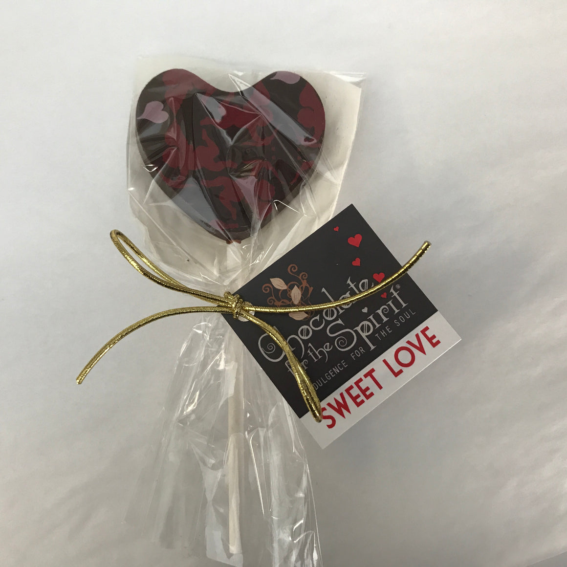 Heart Sucker - Dark, Milk or White Chocolate