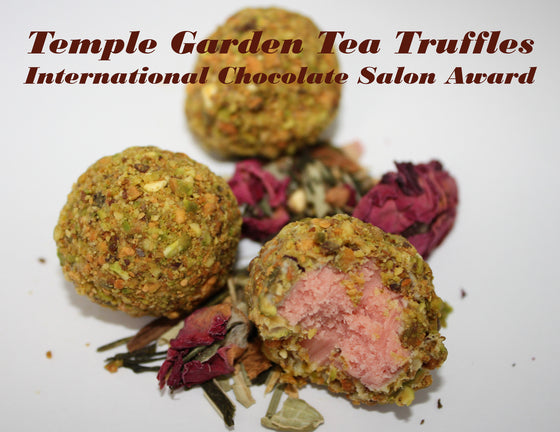 Temple Garden Tea Truffles