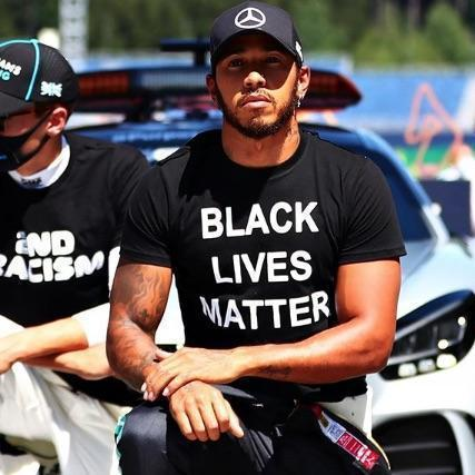 Lewis Hamilton And F1 Drivers Take The Knee