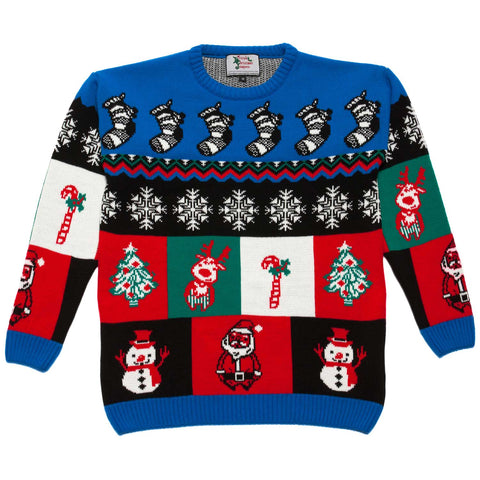 little boys boxes xmas sweater