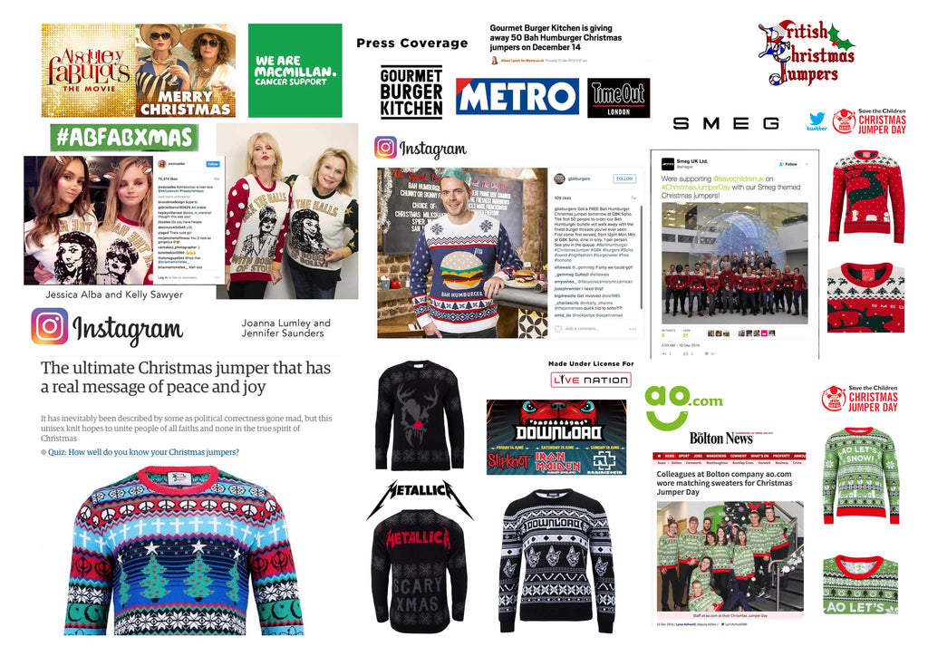 bespoke christmas jumper knitwear factory
