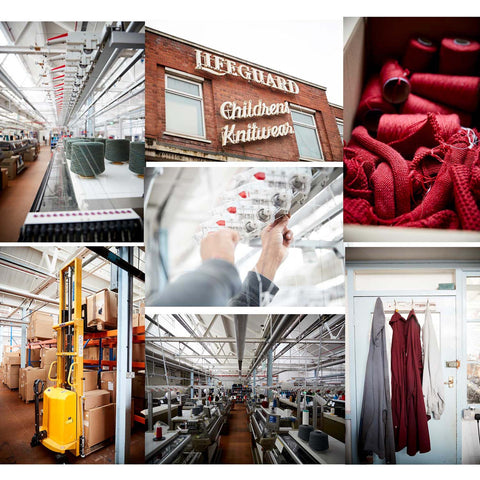 Knitwear manufacturer Leicester UK bespoke Christmas jumper factory