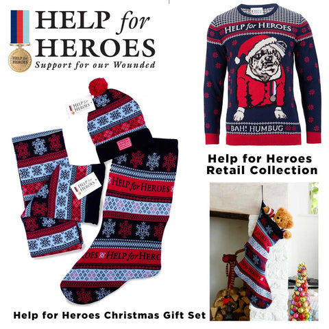 Help for Heroes Christmas Jumper
