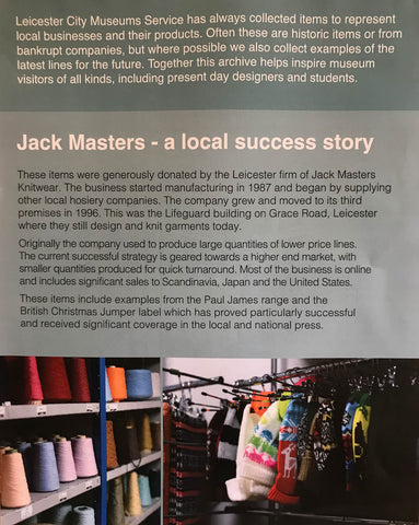 jack masters local success story in knitting Leicester