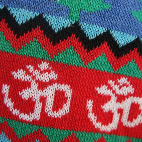 British Christmas Sweaters multi faith xmas jumper Hinduism religious symbol