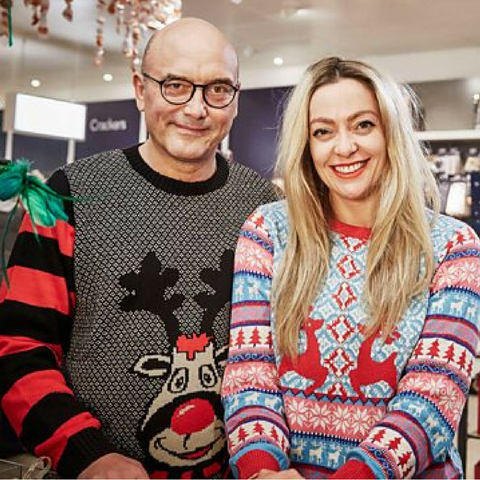 BBC2 Inside the Factory Christmas Jumper documentary cherry healey