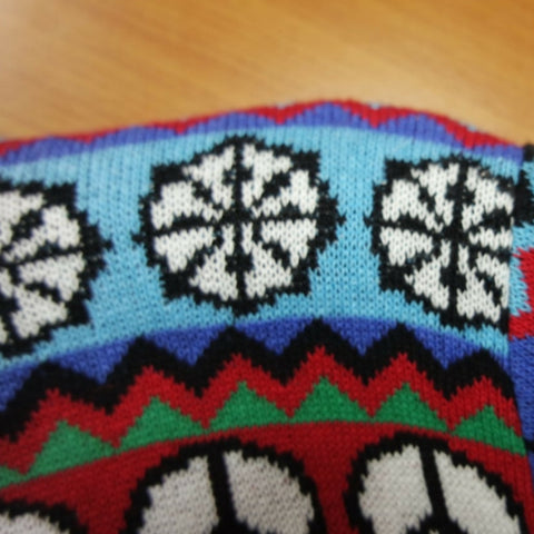 Dharma wheel for the british christmas jumper multicultural christmas sweater