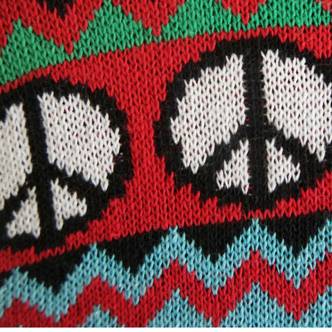 multicultural christmas jumper peace symbol