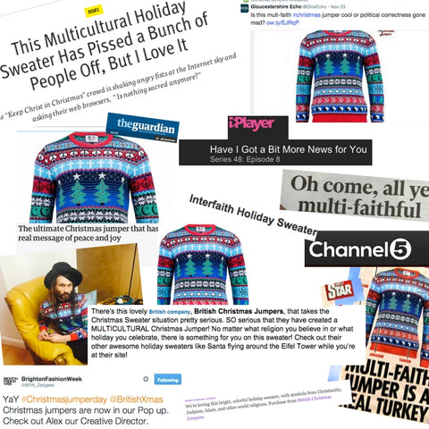 british christmas jumper multicultural christmas jumper press
