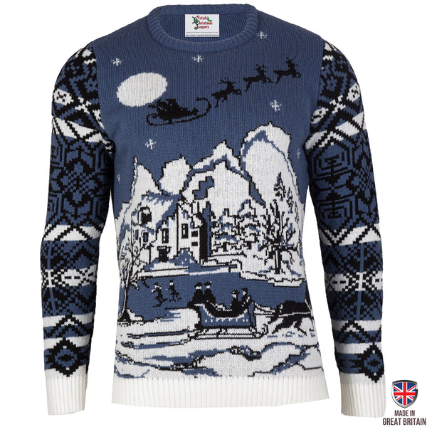 Christmas Wonderland - Mens Christmas Jumper - British Christmas Jumpers