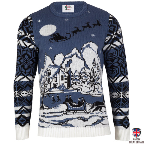 Christmas Wonderland - Mens Christmas Jumper