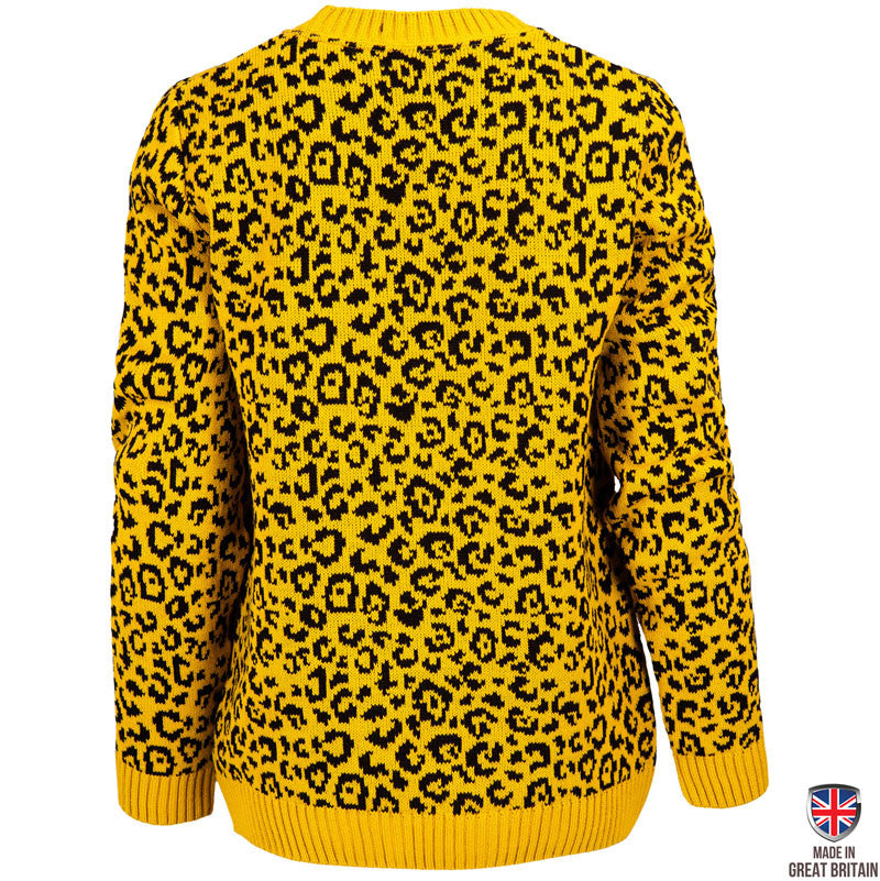 Penguin Love Mustard - Womens - British Christmas Jumpers