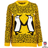 Penguin Love - Womens - British Christmas Jumpers