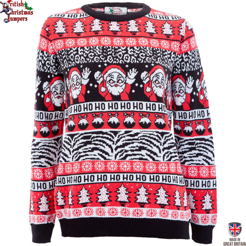 Comic Wave - Womens Christmas Jumper
