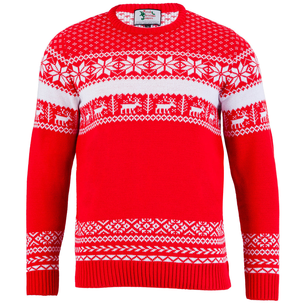 The Nordic Christmas Jumper - Mens | British Christmas Jumpers
