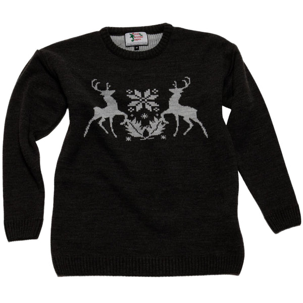 Boys Stag Christmas Jumper