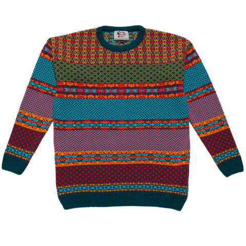 Boy's Cosmic Christmas Jumper