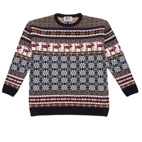 Boys Deer Xmas Jumper