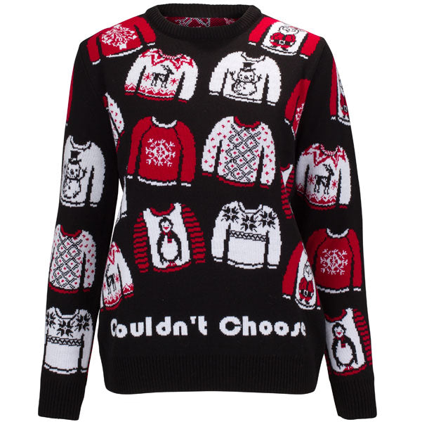 Christmas Jumpers.Too Many Jumpers Womens
