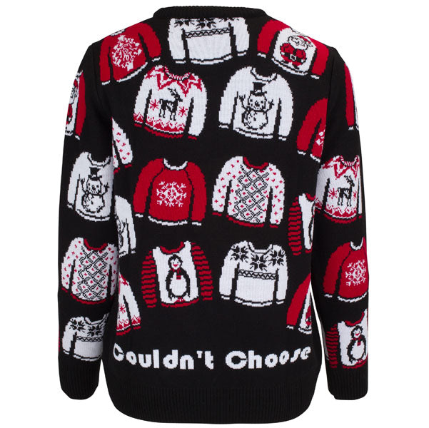 Too Many Jumpers - Womens Christmas Jumper - British Christmas Jumpers