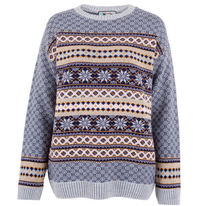 Womens Christmas Jumper Fairisle