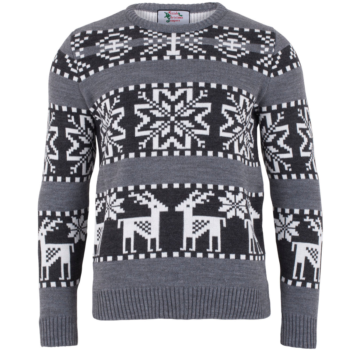 Chunky Fairisle Jumper - Mens Christmas Jumper - British Christmas Jumper