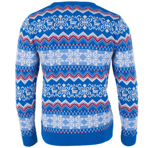 Funky Blue Fairisle - Mens