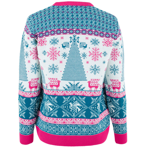 Xmas Tree Fairisle - Womens - British Christmas Jumpers
