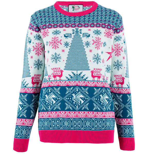 Xmas Tree Fairisle - Womens
