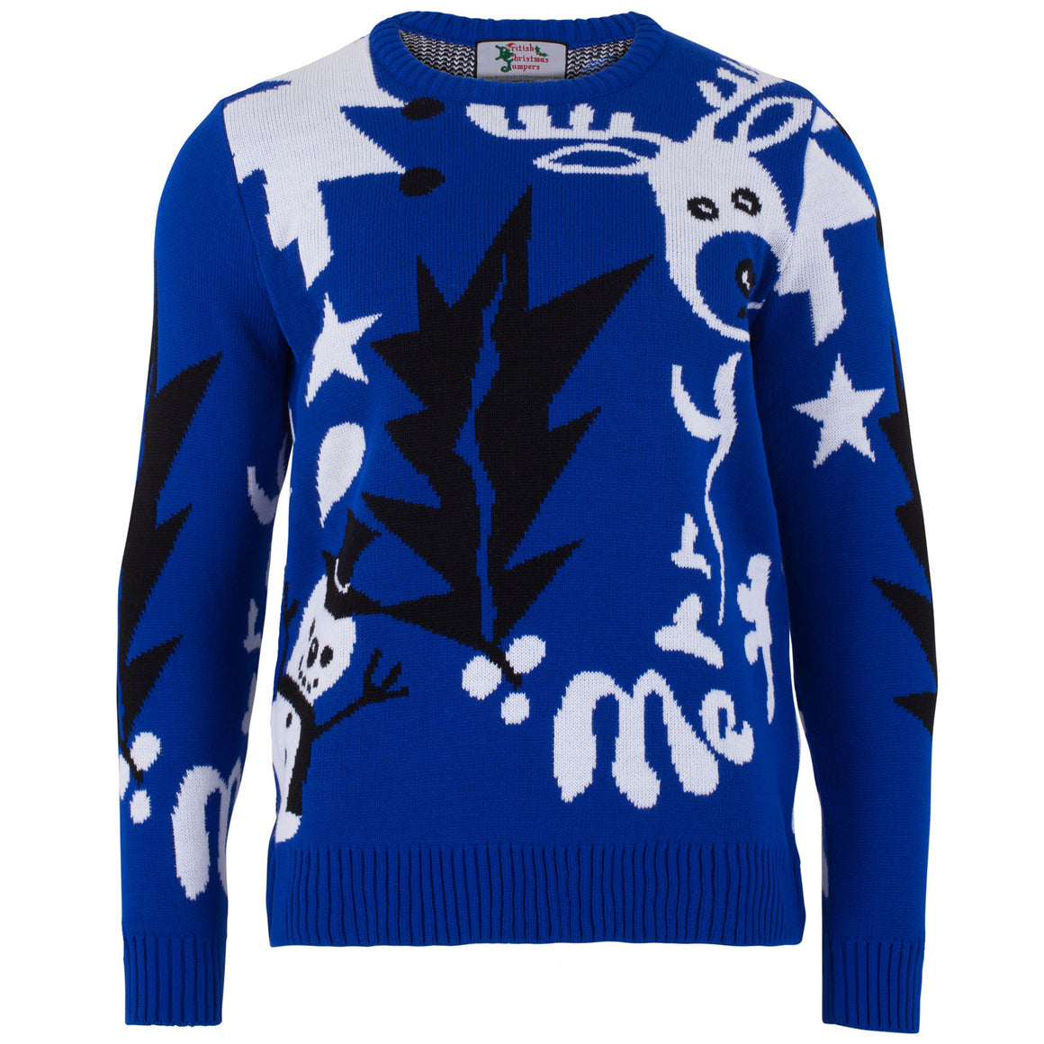 Snowtess - Mens Christmas Jumper