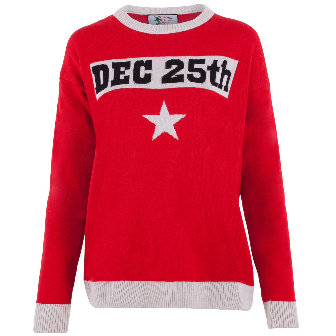 25th December Slogan - Womens Christmas Jumper
