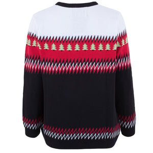 Funky Christmas Tree - Womens Christmas Jumper