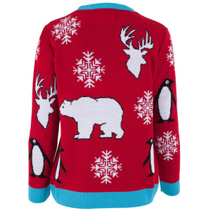 Polar Bear - Womens Christmas Jumper