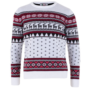 Classic Mens Fairisle Christmas Jumper