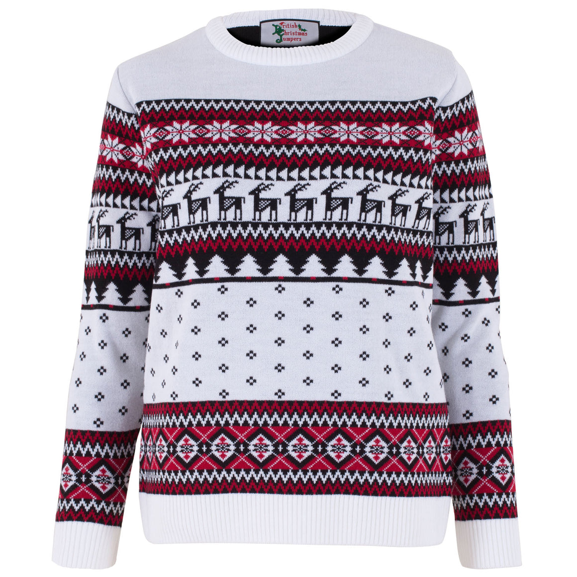 Classic Womens Fairisle Christmas Jumper