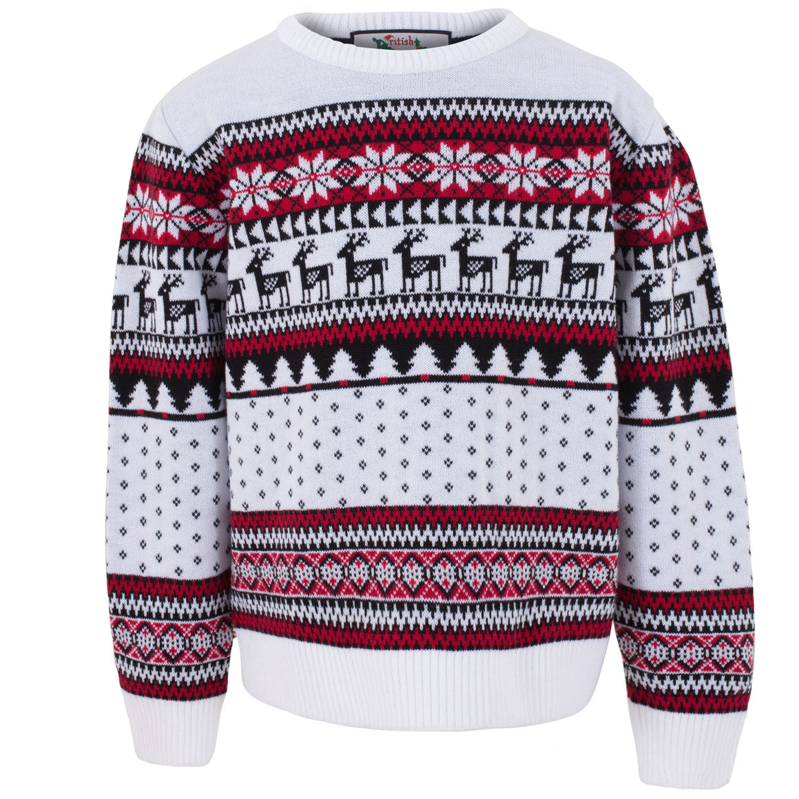 Classic Kids Fairisle Christmas Jumper