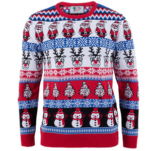 CYBER WEEKEND SPECIAL - Comic Family Pack - Crazy Christmas Jumper - Mens