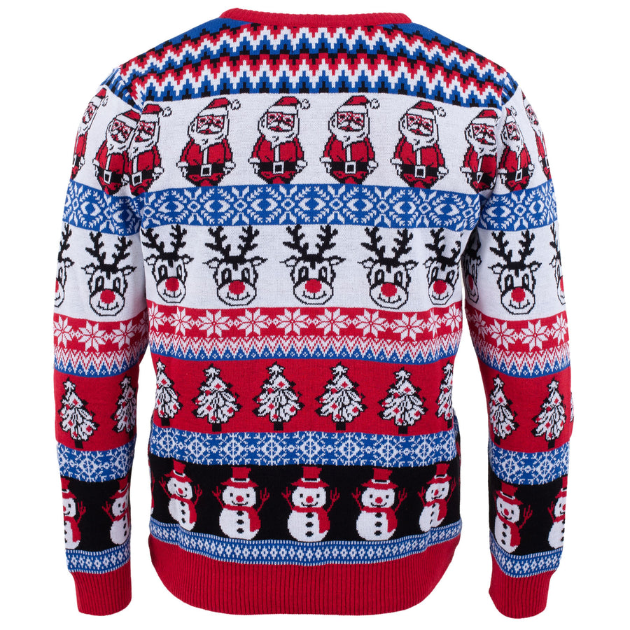 Comic Family Pack - Crazy Christmas Jumper - Mens