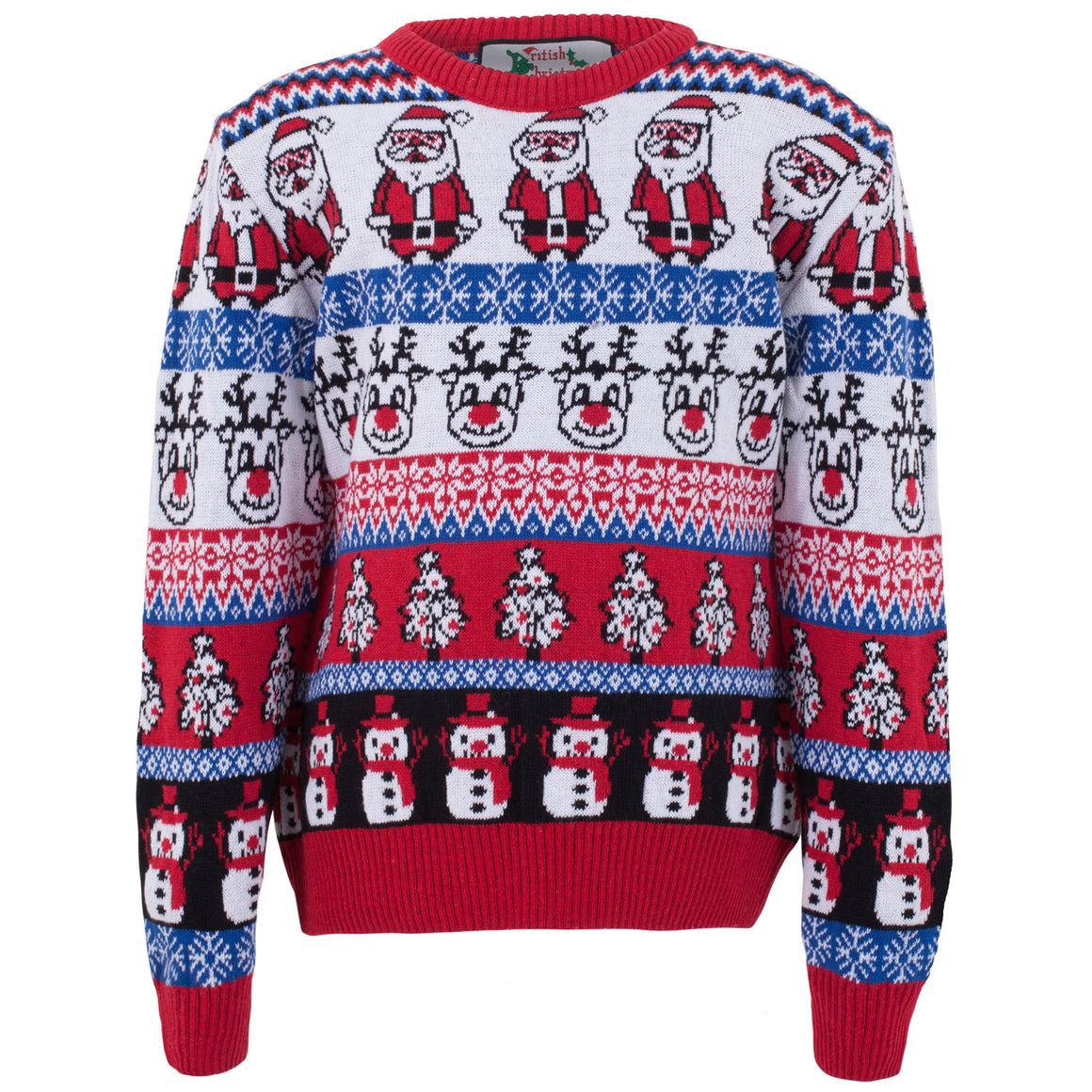 Comic Family Pack - Crazy Christmas Jumper - Kids