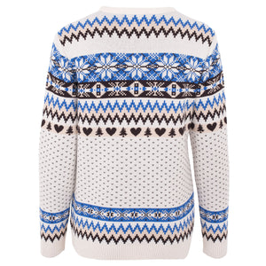 Vintage Fairisle Womens Eco Christmas Jumper