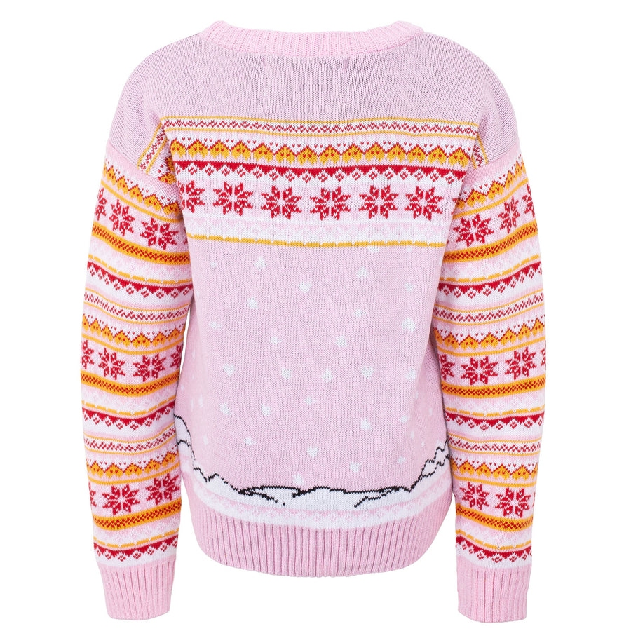 Singing Snowman Fairisle Kids Eco Christmas Jumper
