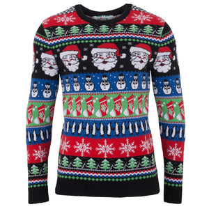 Christmas Sparkle Mens Eco Christmas Jumper