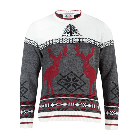 Red Deer - Womens Christmas Jumper