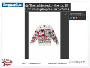 Daily Starr News  - Mens Christmas Jumper - British Christmas Jumpers