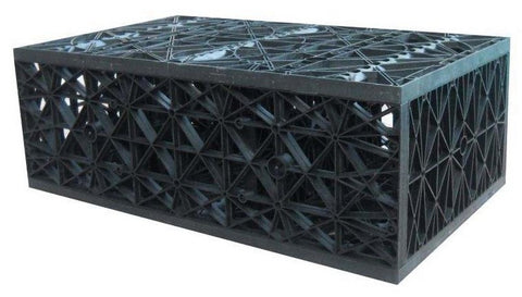 "High Strength Res-Cube 1/2 cube - 9 1/2"" H x 16"" W x 27"" L"