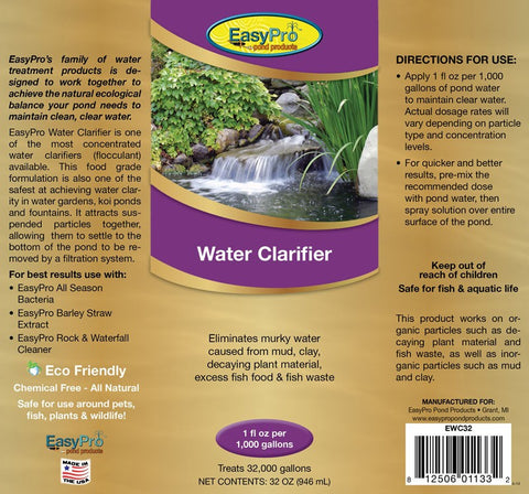 Water Clarifier - 55 Gallon Drum
