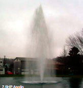7.5 HP Otterbine Large Lake Fountains