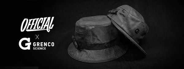 47f07e78018 Introducing the Official x G Bucket + 5-Panel Hats. Grenco Science is proud  to present their latest collaboration with Official Crown of Laurel.
