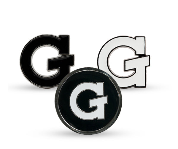 G Enamel Pins, 3-Pack