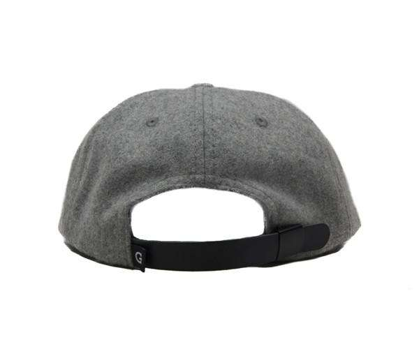 G Melton Wool Cap - Heather Gray